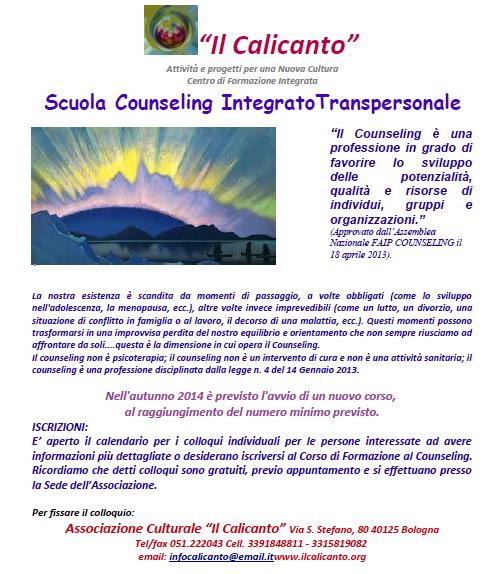 Scuola Counseling Bologna